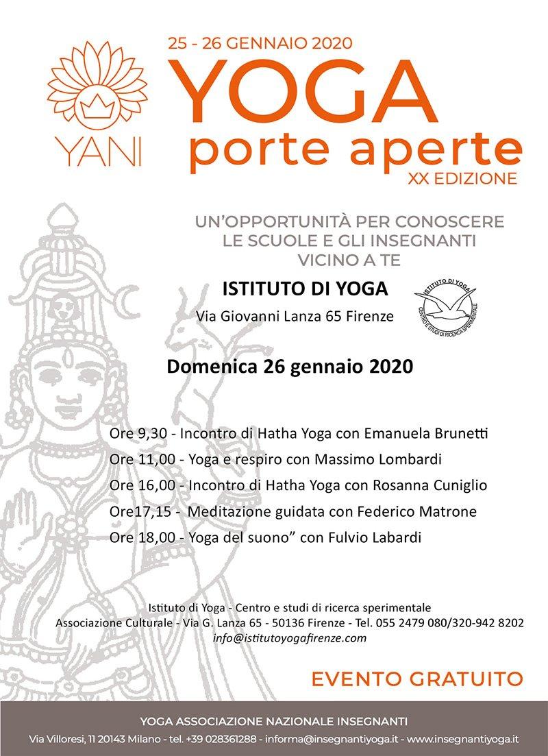 Giornata Yoga Porte Aperte